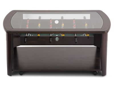 Foosball Coffee Table Furniture Row - Foosball coffee table with stools
