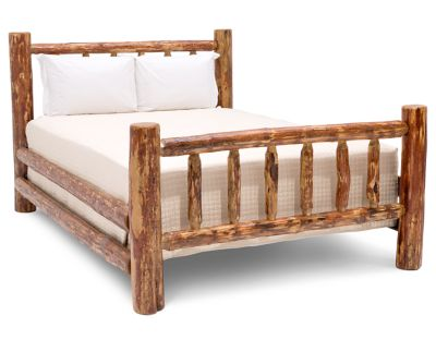 Picture of: Glacier Country Log Bed Furniture Row