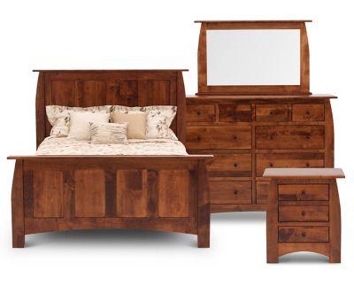 Hayworth Panel Bedroom Set Furniture Row
