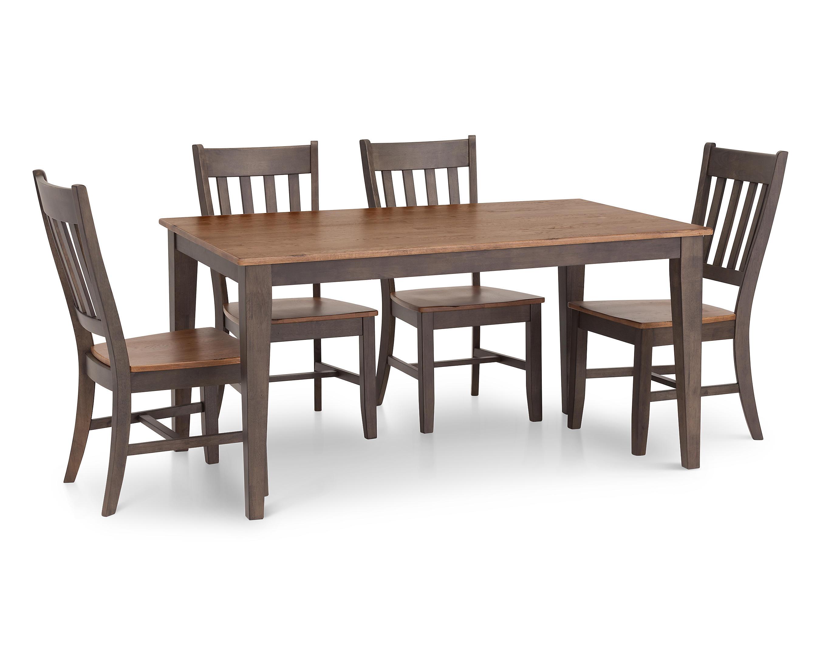Hudson Park 5 Pc Rectangle Dining Room, Hudson Dining Room Furniture