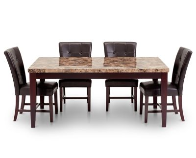 Imperial 5 Pc Dining Room Set Furniture Row