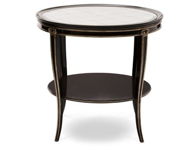 Ionia Round End Table Furniture Row