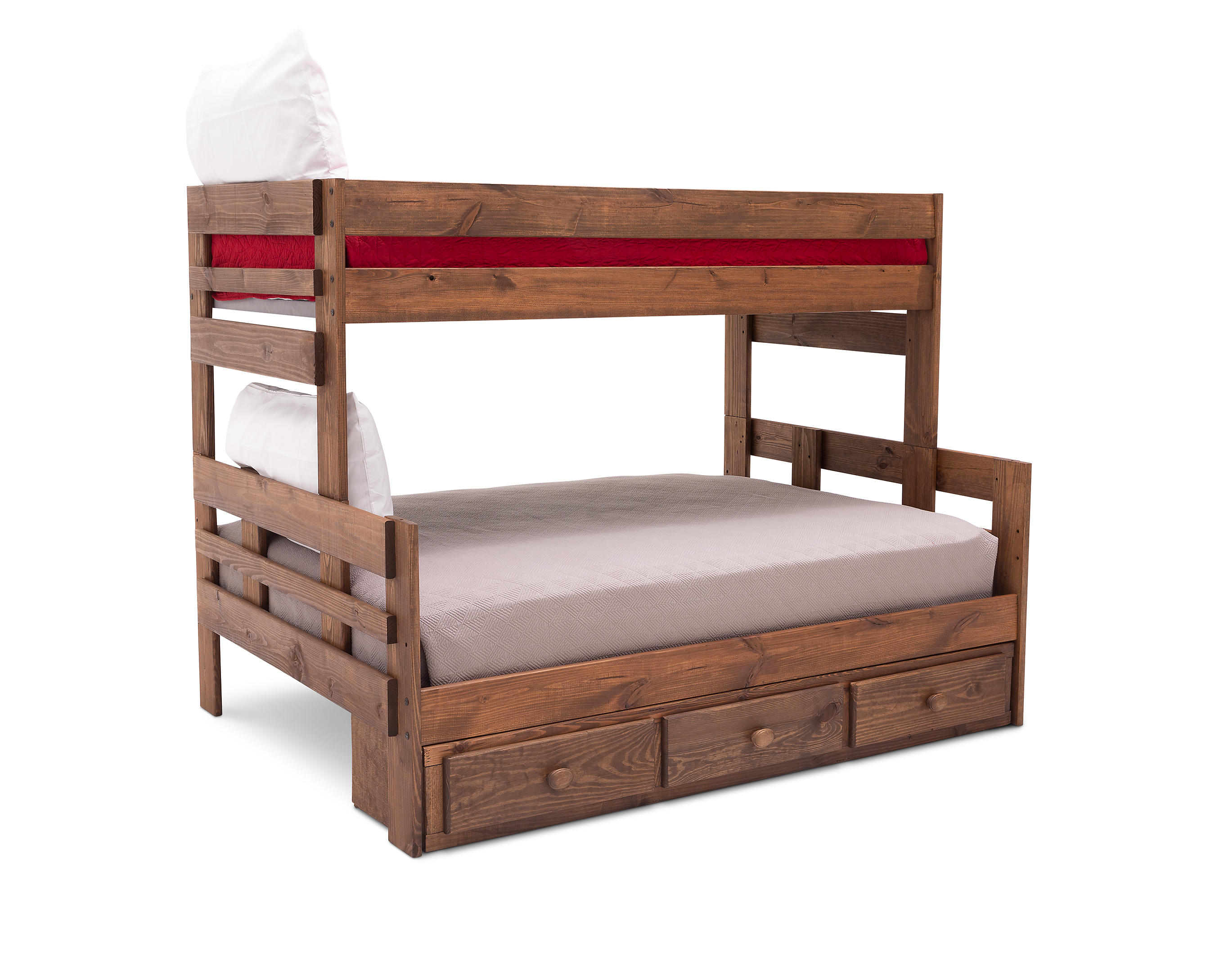 Moab Twin Full Bunk Bed With Underdresser Furniture Row