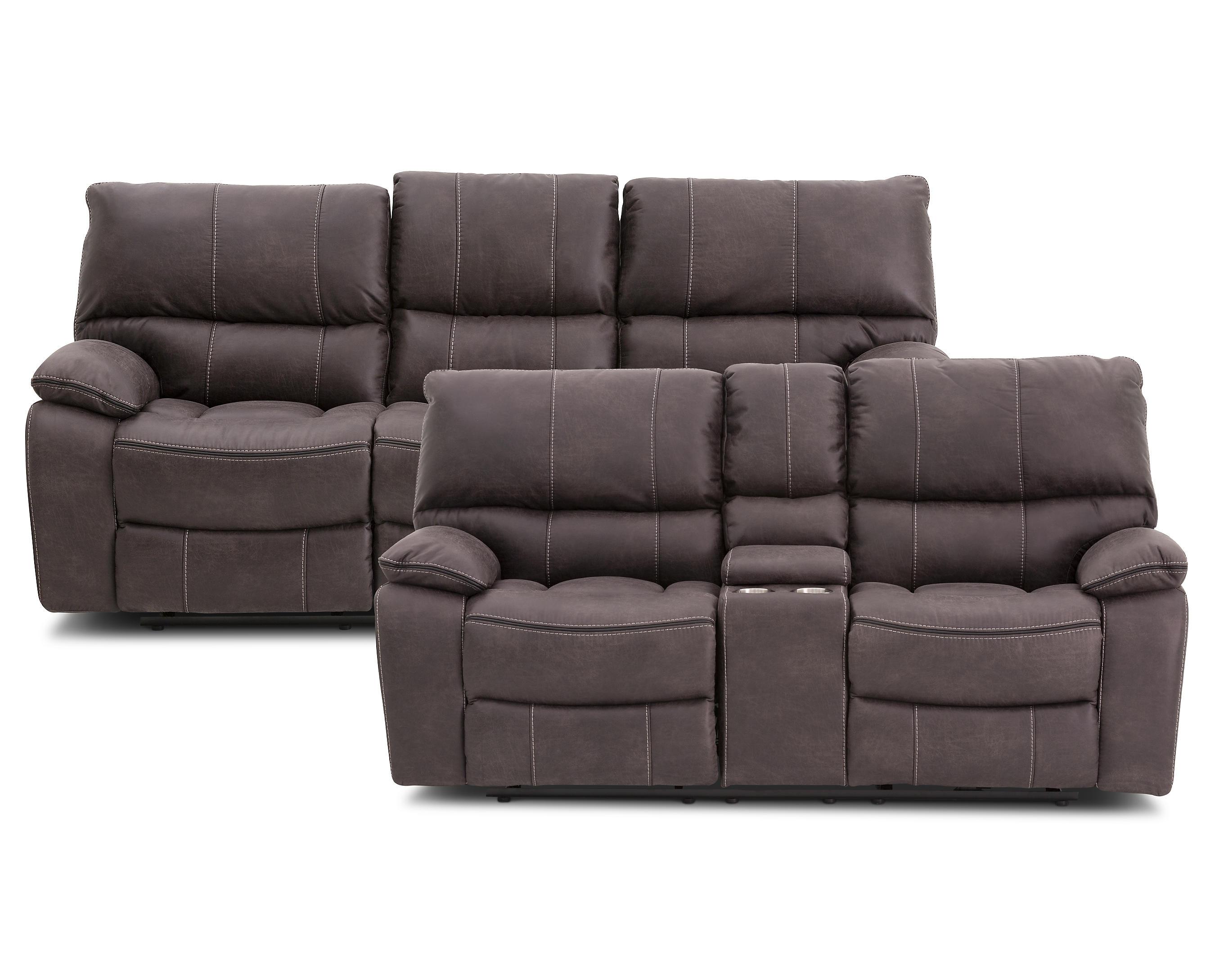 Navigator 2 Pc Power Reclining Sofa Set Furniture Row