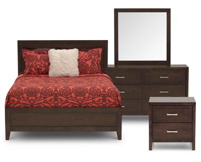 Oslo 4 Pc Queen Bedroom Set Furniture Row