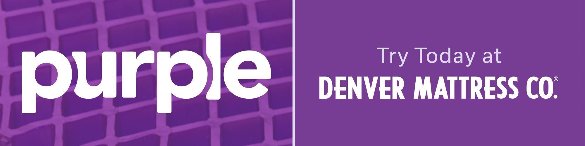 Purple at Denver Mattress