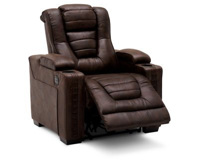 Stagecoach Power Recliner Furniture Row