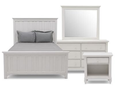 Willow 4 Pc Bedroom Set Furniture Row