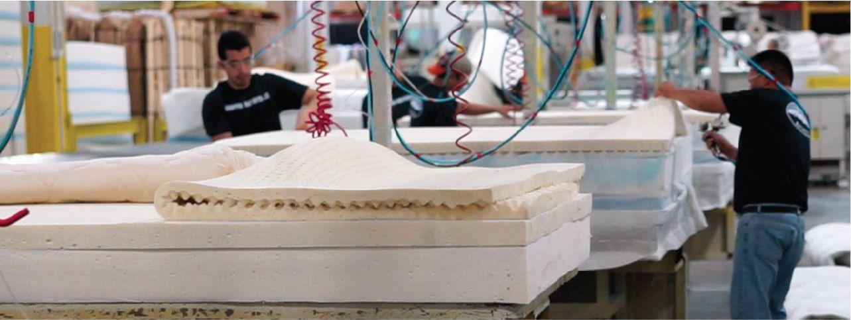 Denver Mattress Factory Assembly Line