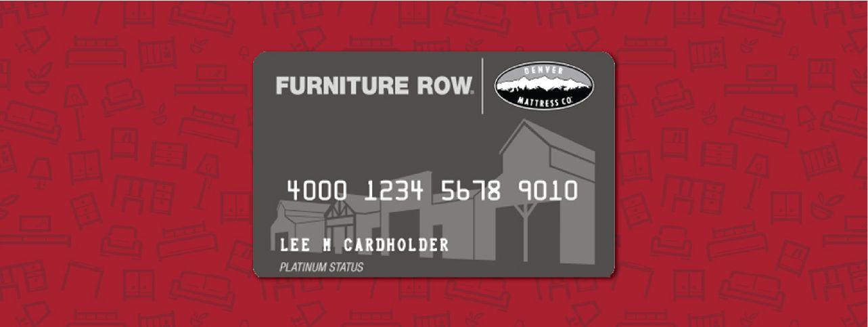 Furniture Row Financing
