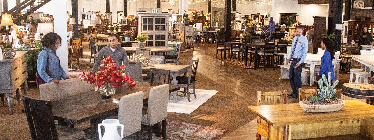 Furniture Row Dining In-Store