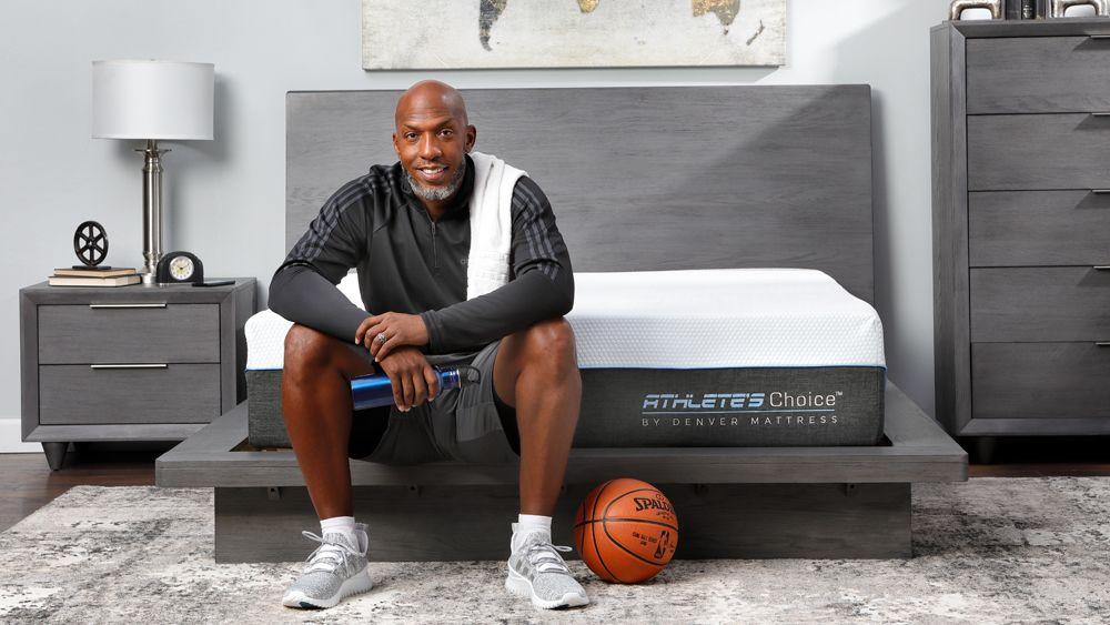 Former Basketball Player Chauncey Billups Sleeps on an Athlete's Choice Mattress