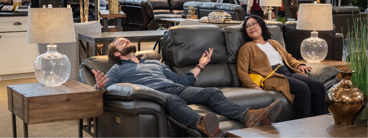 Furniture Row Living In-Store