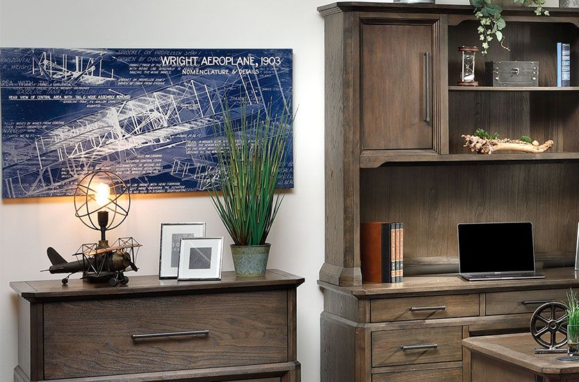 Stylish Hutches and File Cabinets