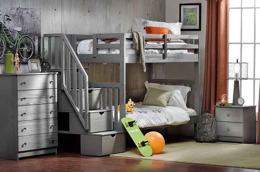Dove Kids Bunkbed Bedroom Group
