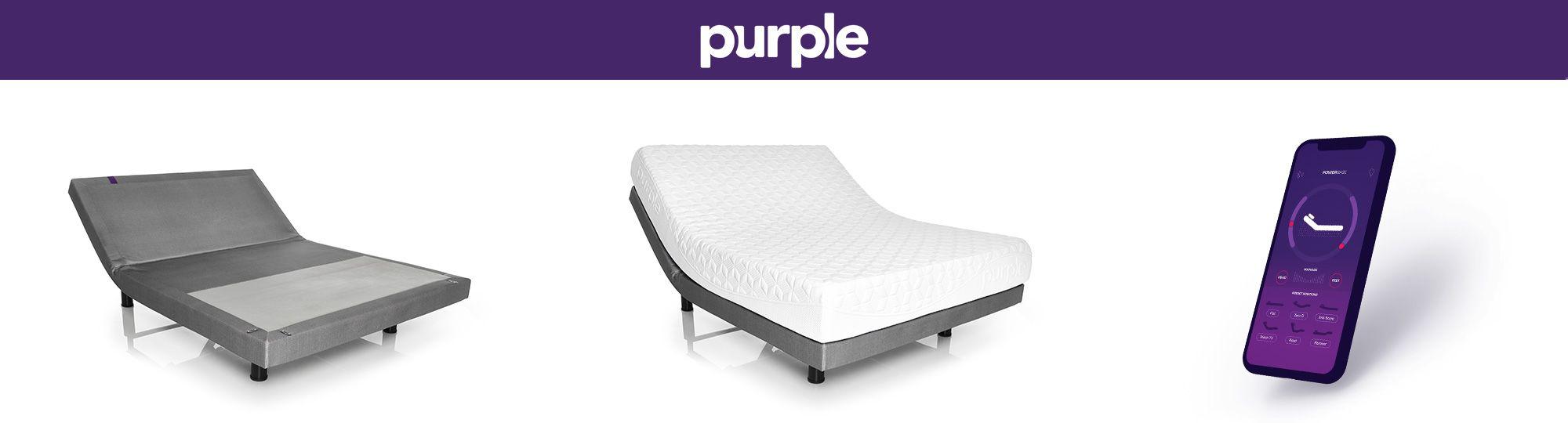 Purple Adjustable Base