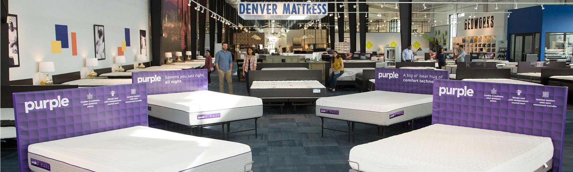 Purple in Denver Mattress Store
