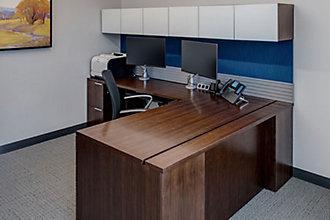 Jackson National Life | Lansing, MI | Gunlocke Office Furniture Wood  Casegoods Desking Seating Conferencing