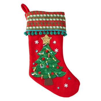 20 inch led tree christmas stocking
