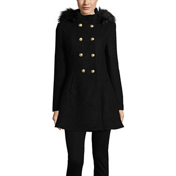 0c93412af887 Black Coats   Jackets for Women - JCPenney