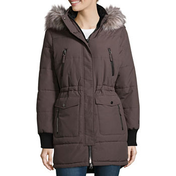 a325f789f Hooded Coats   Jackets for Women - JCPenney