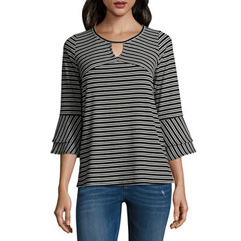 1dac19cf84a684 Alyx Blouses Tops for Women - JCPenney
