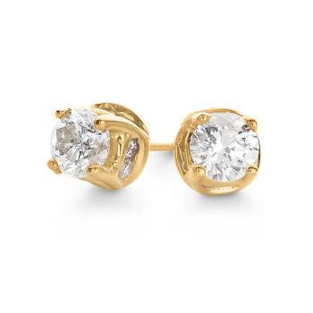 Diamond Earrings Studs Gold Hoops & White Gold Earrings