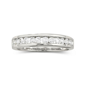 wedding bands white gold tungsten more - Wedding Rings Jcpenney
