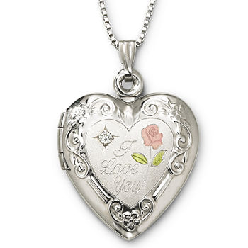 Locket necklaces fine necklaces pendants for jewelry watches locket necklaces fine necklaces pendants for jewelry watches jcpenney aloadofball Choice Image