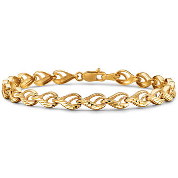 to curb bracelet zoom gold yellow kay mv hover zm mens men s kaystore en link length