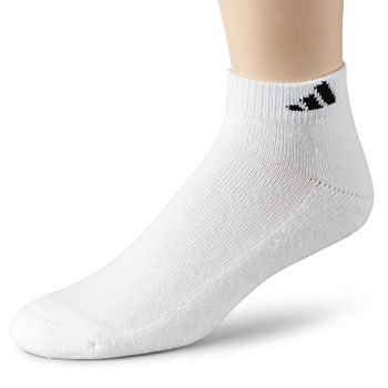 adidas® Men's 6-pk. Athletic Cushioned Low-Cut Socks - Extended Sizes