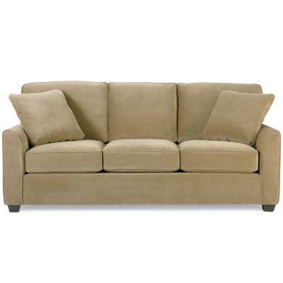 fabric sharkfinarm sofa