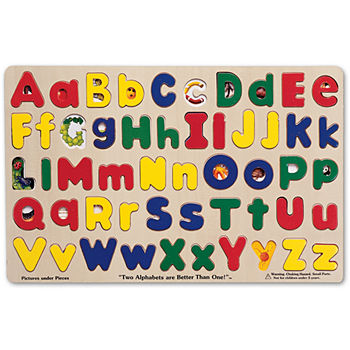 Melissa & Doug Upper & Lowercase Alphabet