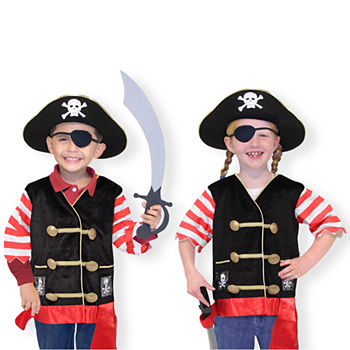 Melissa & Doug Pirate Unisex Costume