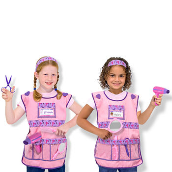 Melissa & Doug Hair Stylist Role Play Set Girls Costume