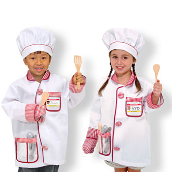 Melissa & Doug Chef Role Play Costume Set Unisex Costume