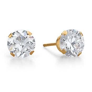 eb92212c8 Cubic Zirconia Stud Earrings Gold Jewelry for Jewelry & Watches ...