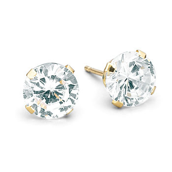 gold ears product earrings for on zirconia cubic plated sensitive table