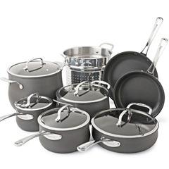 Cuisinart® Contour 13-pc. Hard-Anodized Cookware Set