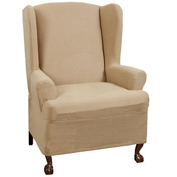 average rating - Wing Chair Slipcover