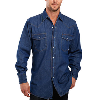 4fb148532164e0 Ely Cattleman Button-front Shirts Shirts for Men - JCPenney