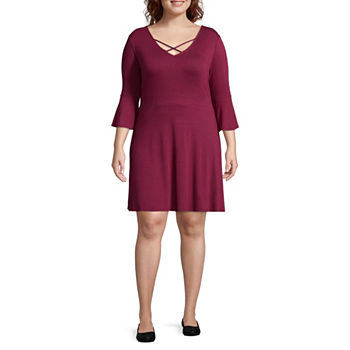 Juniors Plus Size Red Dresses For Juniors Jcpenney