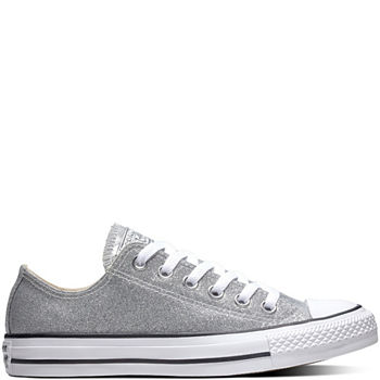 4bf1074c06a3 Converse Ctas High-Top Womens Sneakers. Add To Cart. New. Silver White
