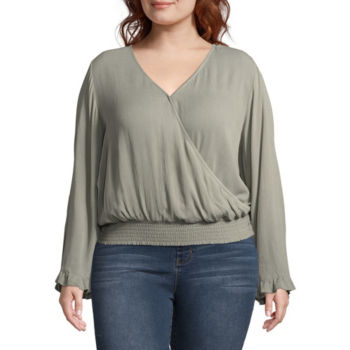 Juniors Plus Size Blouses For Juniors Jcpenney
