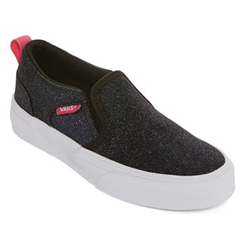 1ffbf52ad81055 Vans Asher Dx Womens Slip-on Skate Shoes. Add To Cart. Glitter Blk Mgnta.  Multi Glitter.  29.19 -  39.99 sale