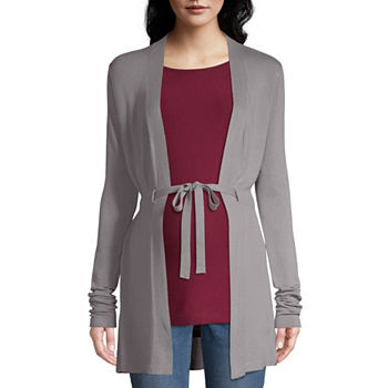 11d34f6e00 Maternity Size Gray Sweaters   Cardigans for Women - JCPenney