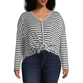 Juniors Plus Size Tunic Tops Tops for Women - JCPenney