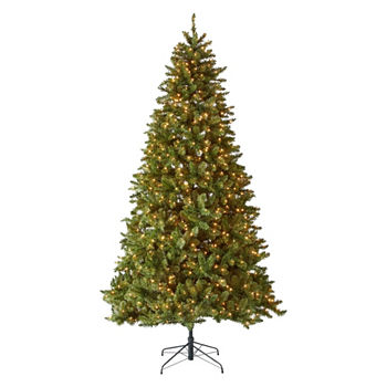 9 foot albany pre lit christmas tree