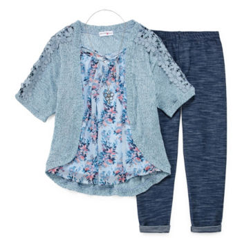 Girls Plus Size Clothing Sets For Kids Jcpenney