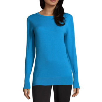 Misses Size Blue Tops For Women Jcpenney